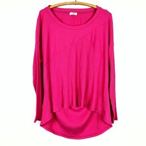🌿 umgee pink textured shirt